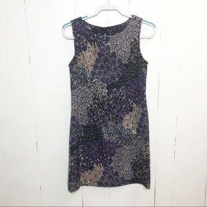 Connected Apparel Paisley Petite Sheath Dress